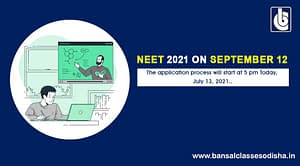 NEET- UG To Be Held On September 12th, 2021